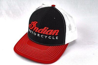 Indian Motorcycle, Trucker Hat Cap, Snapback, Chief, Embroidery, Harley Davidson