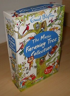 The Magic Faraway Tree Collection - Enid Blyton - Three-book Set - Free Delivery