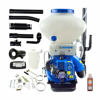 Hq 3.8 Hp Petrol Backpack Sprayer Mist Duster Blower Garden Machine 26 Liter