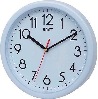 Unity Hastings Silent Sweep Wall Clock In White