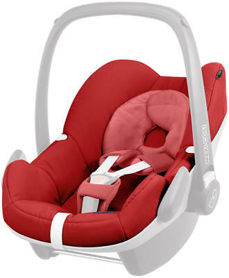 Maxi Cosi Pebble Seat Cover Red Rumour / Grey / Blue New set not car seat