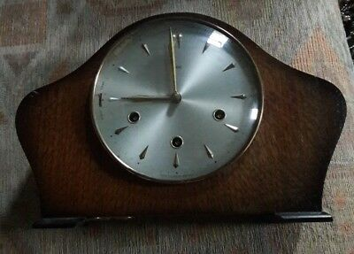 Smiths Floating Balance Mantle Clock With Westminster Chimes.