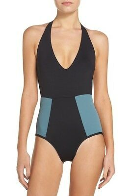 9525c71be343a L*SPACE FIRESIDE ONE-PIECE Swimsuit black size 6 new $158 DG-89 ...