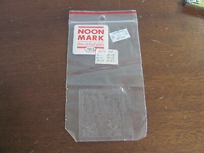 Dollhouse Miniature Noon Mark Etched Glass Window 902 for HW 5000-02