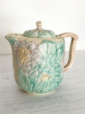 Avonware vintage china small teapot.  Avon Ware.  Very unique, floral, quirky