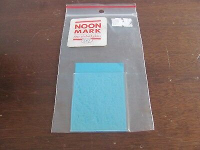 Dollhouse Miniature Noon Mark Etched Glass Window 907