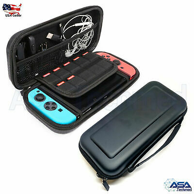 Nintendo Switch Carrying Case Hard Shell Portable Pouch Travel Bag Accessories