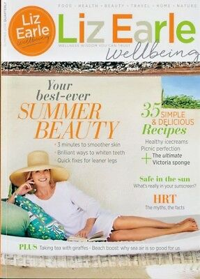 Liz Earle Wellbeing Magazine Issue Summer 2018 ~ New ~