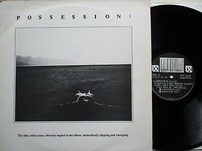 POSSESSION: The Thin, White Arms,... – LP - UK 1984 A-MISSION RECORDS industrial