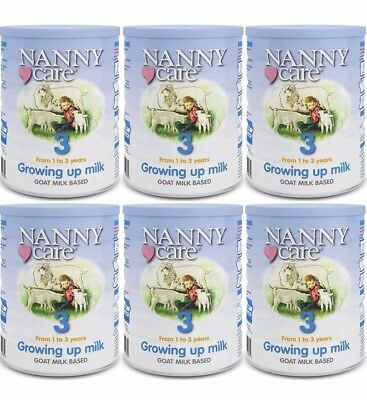 06/2020 Nanny Care Growing up Milk, Goat  Nutrition 900g pack of 6