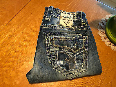 b0093cac Buckle Rock Revival Altdorf Slim Straight Fit Jeans 31 X 31 Euc Very Nice!