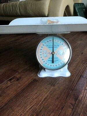 VINTAGE 1960'S AMERICAN FAMILY NURSERY BABY SCALE 30 lb