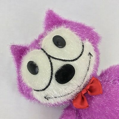 Toy Factory Felix The Cat 16 Inch Plush 2004 Pink Hot Purple