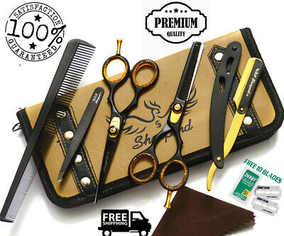 "5.5"" Professional Cutting Thinning Hairdressing Hair Barber Salon Scissors Kit"