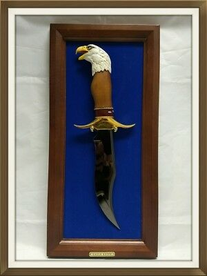 Franklin Mint Eagle Bowie Knife By Ray Beers DS36