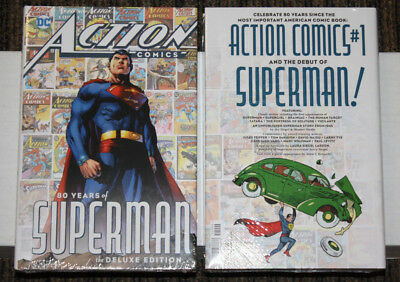 DC Action Comics 80 Years of Superman HC - SEALED UNREAD