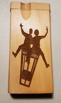 Bill and ted execellent adventure wyld stallyns custom wood wooden dugout