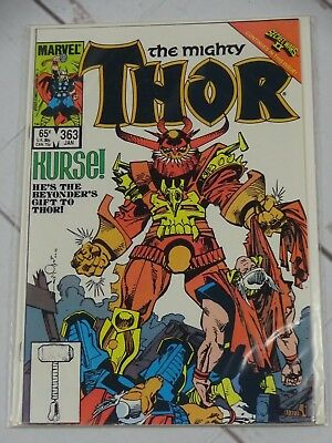 The Mighty Thor #363 1986 MARVEL COMICS Bagged and Boarded - C2040