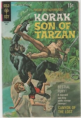 Korak, Son of Tarzan #36 In Fine 6.0 Condition (July.,1970 Western)