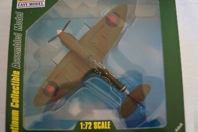 Model Aircraft - Boxed - Assembled 1:72 Scale - Display - Spitfire MK V.