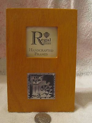 Adorable Kitty/cat Regal Handcrafted Frame Nwot