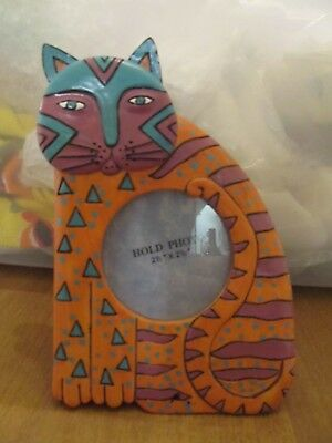 Adorable Colorful Kitty/cat Picture Frame