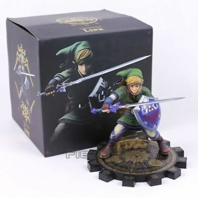 Game The Legend of Zelda Skyward Sword LINK 8in. PVC Figure Statue New In Box