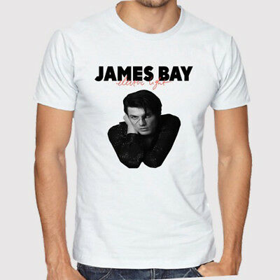 James Bay The Dark Of The Morning Album Cover Men/'s Black T-Shirt Size S to 3XL