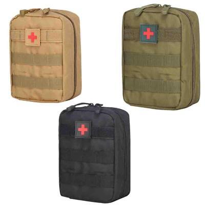 Tactical First Aid Kit Bag Medical Outdoor Emergency Survival Pouch$