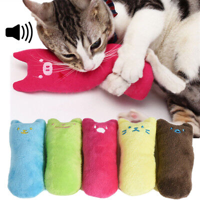 New Creative Pillow Funny Scratch Crazy Pet Cat Kicker Toy Teeth Grinding Toys