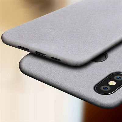 For Xiaomi Redmi Note 7 6 5 Pro 5A 6A Sandstone Matte Silicone Soft Case Cover