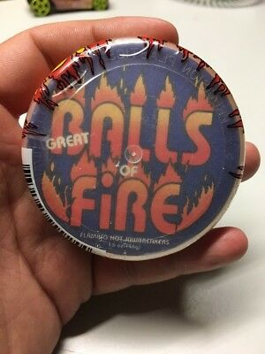 Vintage Great Balls Of Fire Flaming Hot Jaw Breakers NOS Sealed