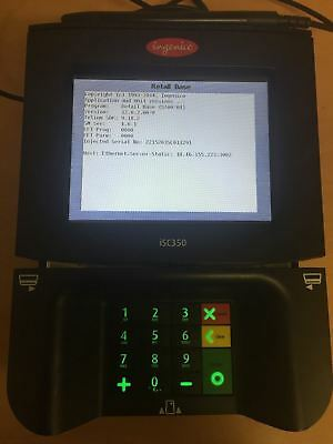 Ingenico ISC350 Touch Screen Signature Capture Credit Card Device