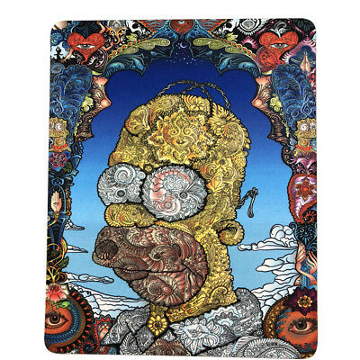 """8""""x10"""" Trippy Psychedelic Art Face Mouse Pad Dab Mat Oil Absorbent Dabpad"""