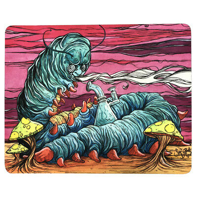 """8""""x10"""" Trippy Psychedelic Art Caterpillar Mouse Pad Dab Mat Oil Absorbent Dabpad"""
