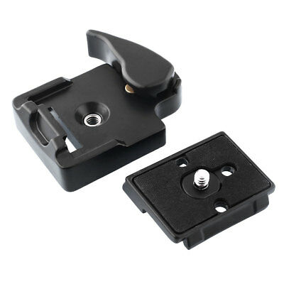 323 Quick Release Adapter For Camera DSLR with 200PL-14 QR Plate black^