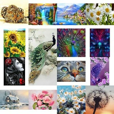 Full Drill 5D Diamond Painting Embroidery Cross Craft Stitch DIY Home Wall Decor