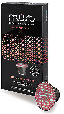 100x Nespresso Compatible Coffee Capsules STRONG & BOLD! FREE DELIVERY FAST pods