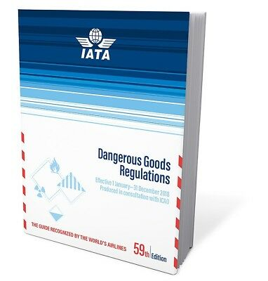 2018 59th Edition IATA Dangerous Goods Regulations