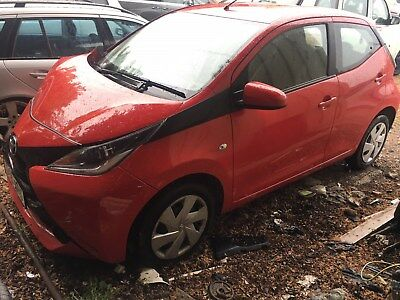 2016 Toyota AYGO X-PLAY VVT-I REPAIRABLE DAMAGED SALVAGE UNRECORDED