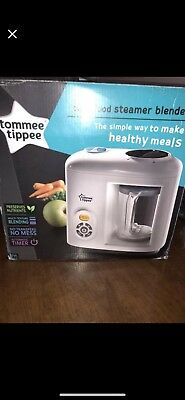 tommy tippee steamer blender.. comes with a brand new jug worth £19.99 l@@k!!!