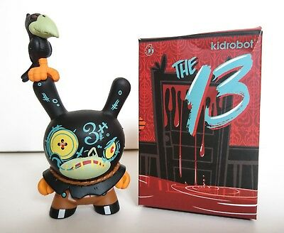 "Kidrobot Dunny, Hay Man 3"" Figure 13 Series, Brandt Peters"