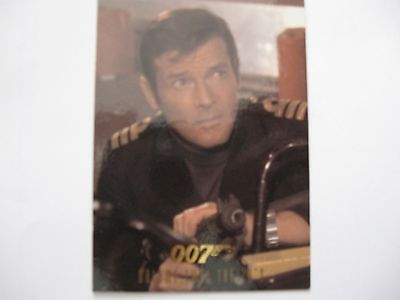 James Bond Connoisseur Collection Vol 2   The 70's Card P2 Roger Moore