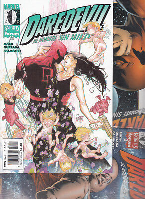DAREDEVIL : MARVEL KNIGHTS  Nºs :   2. 4. 11.  ( LOTE  3  NUMEROS  ) FORUM.