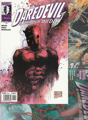 DAREDEVIL : MARVEL KNIGHTS  Nºs :  13. 14. 15 .  ( LOTE  3  NUMEROS  ) FORUM.