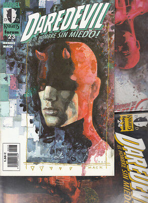 DAREDEVIL : MARVEL KNIGHTS  Nºs :   22. 23. 24 .  ( LOTE  3  NUMEROS  ) FORUM.