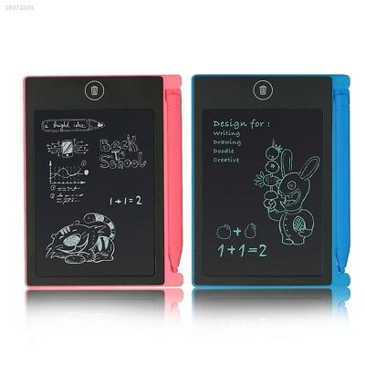 Portable 4.5inch LCD Writing Drawing Board Tablet Pad Writing with Stylus 8AF9
