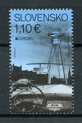 Slovakia 2018 MNH Bridges Europa Bridge 1v Set Cars Architecture Stamps