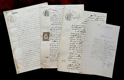 Collection of Handwritten Documents