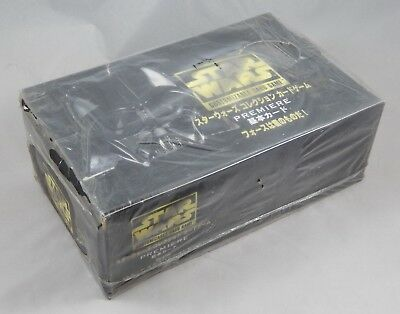 Star Wars CCG Limited Premiere JAPANESE 36 Pack Booster Box NIB Sealed Import